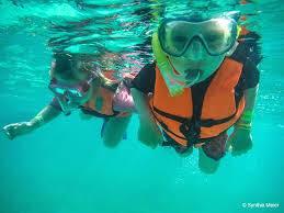 Taller de actividades subacuáticas para niños