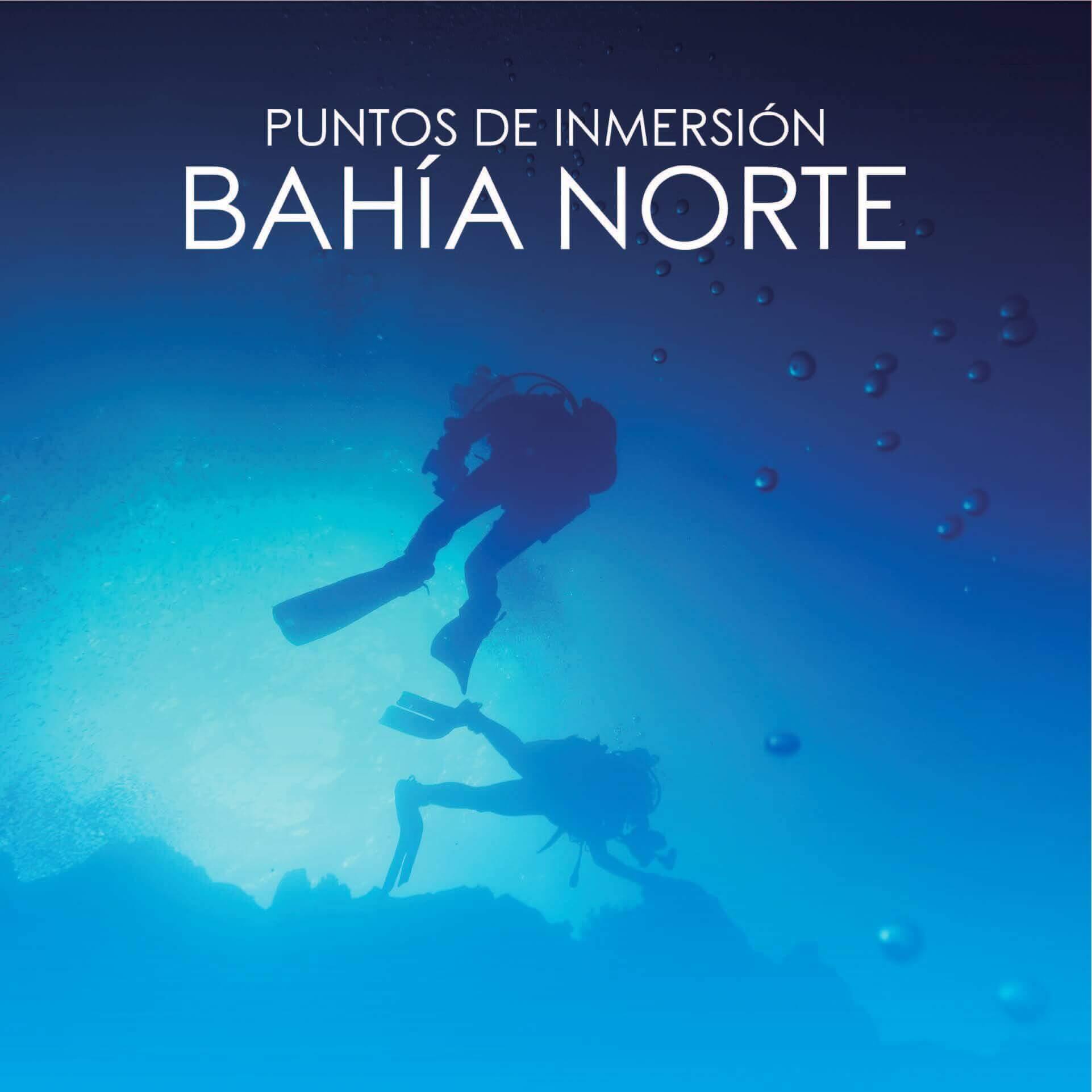 Puntos de Inmersión de la Bahia Nortede Ceuta