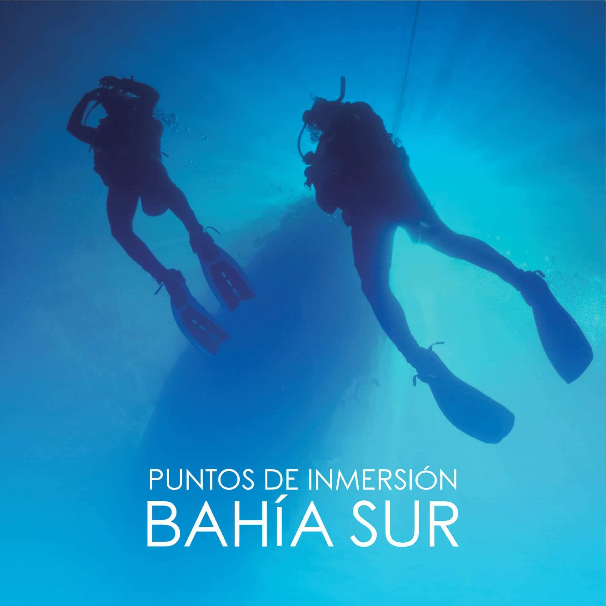 Puntos de Inmersión de la Bahia Sur de Ceuta